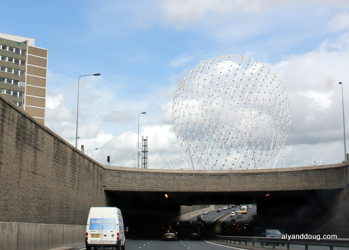 Entering Belfast