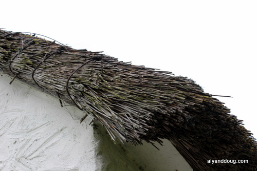 real thatched roof